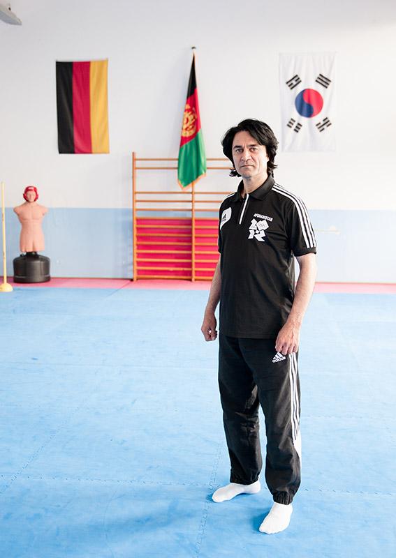 Ahmadscha Faziy, Taekwondo Trainer
