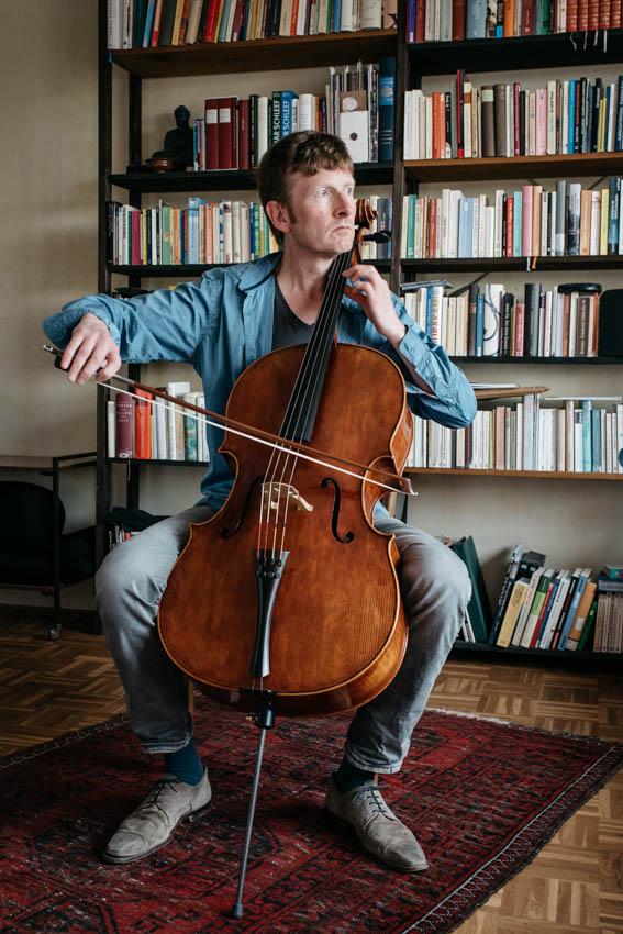 Wolfgang Sellner, Solocellist der Bochumer Symphoniker