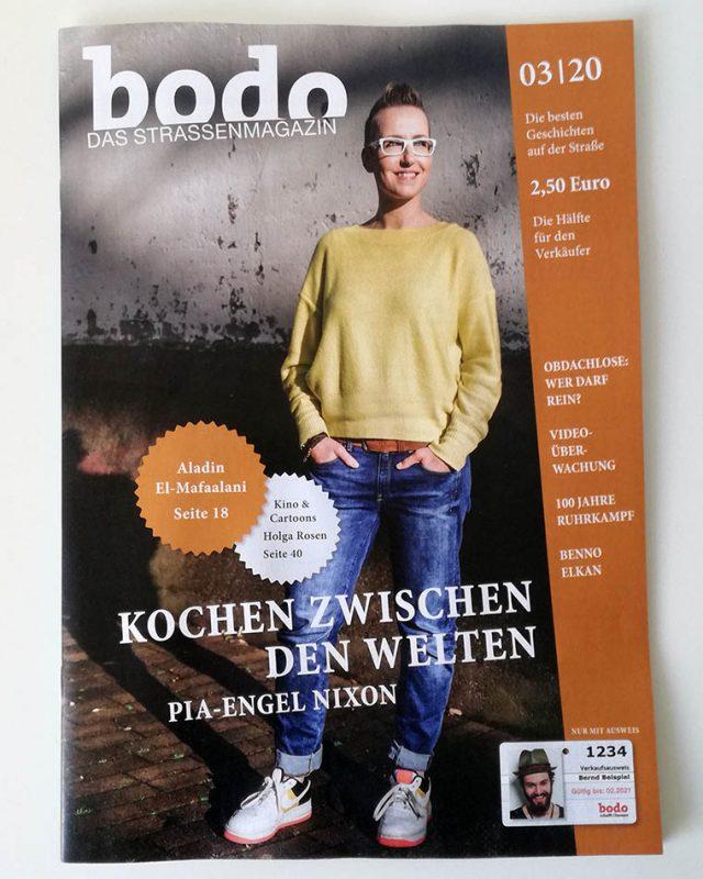 Cover mit Pia-Engel Nixon